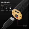 TAGLIACAPELLI RASOIO ELETTRICO PROFESSIONALE USB RICARICABILE RETRò VINTAGE NERO