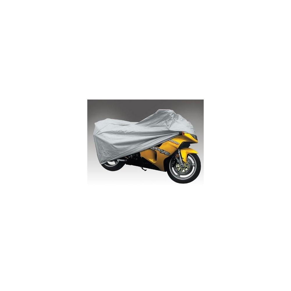 Telo Cover Copri Moto Scooter Bicicletta POLIETILENE Argento Taglia L 130 X 230 Trade Shop