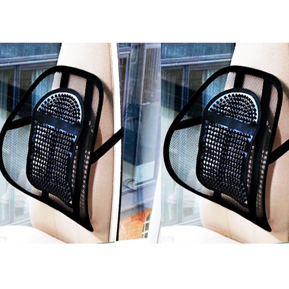 Cuscino Per Postura Corretta.2 Supporti Lombare Auto Schiena Cuscino Relax Per Schiena Per