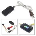 CAVO ADATTATORE IDE SATA USB 2.0 SUPPORTA HD HARD DSIK 2.5 3.5 ALIMENTATORE