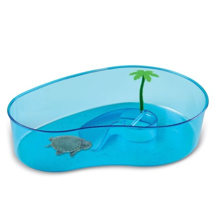 Tartarughiera classica per tartarughe d 39 acqua con piccola for Tartarughiera in plastica grande