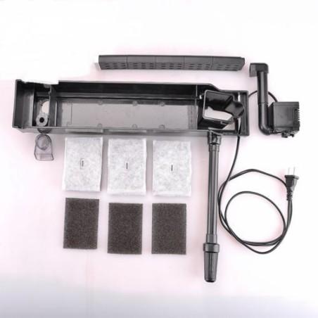 pompa filtro esterno per acquario 7w 500l h professionale