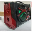 CASSA AMPLIFICATA PORTATILE RICARICABILE 25W MP3 USB SD AUX MICROFONO