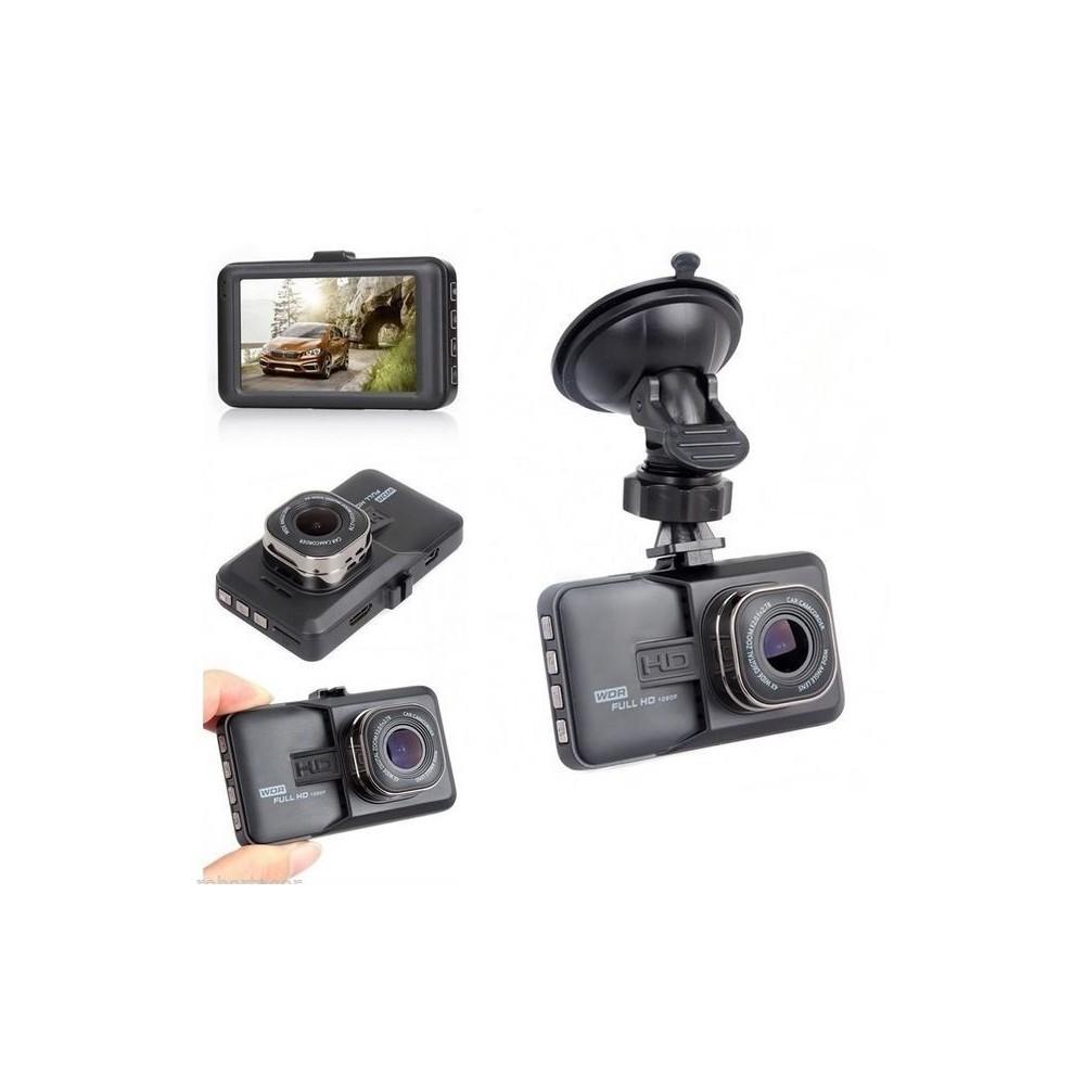 Telecamera Videoregistratore Mini Dvr Per Auto Hd Nera 1080p Monitor