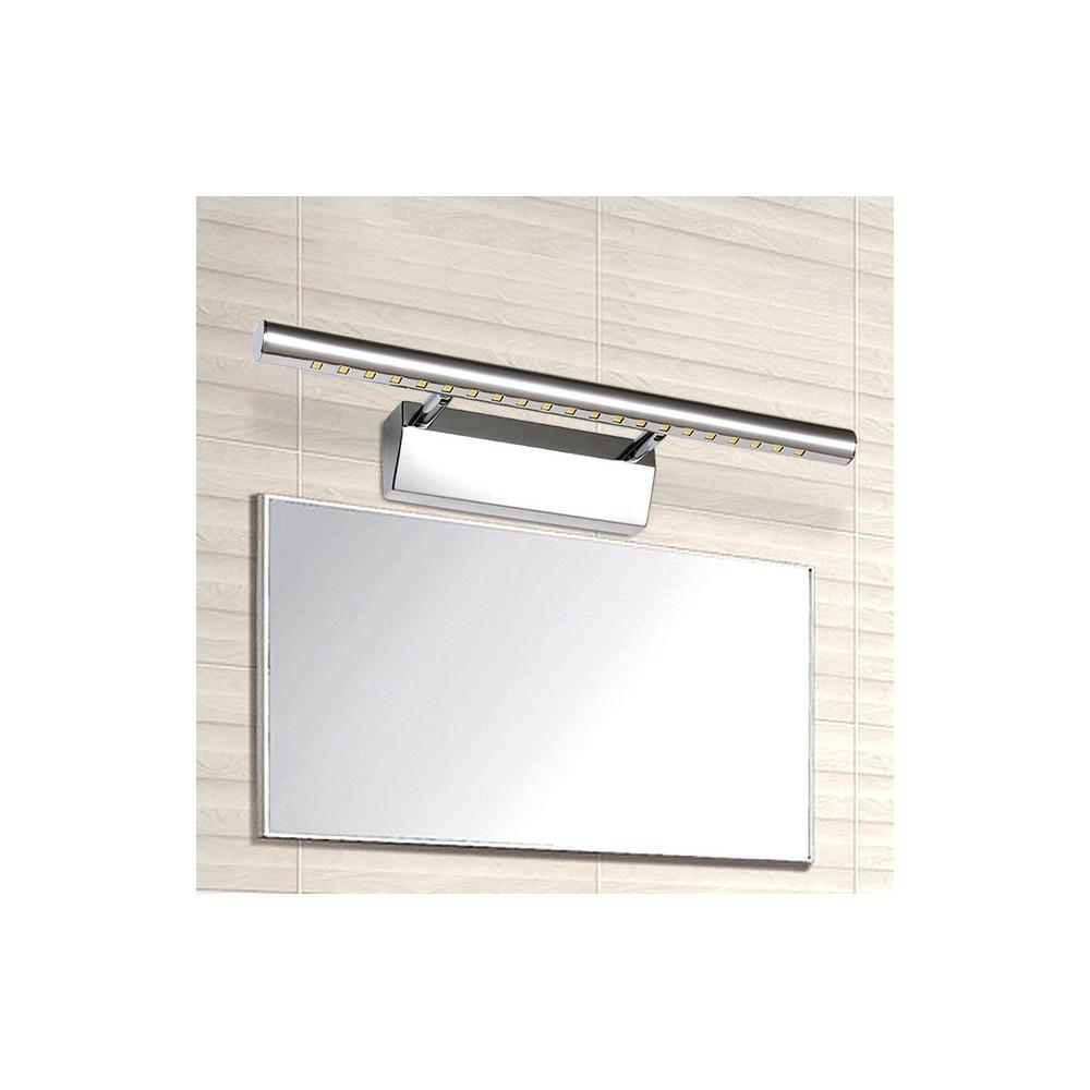 Applique lampada per specchio bagno da parete con 21 led luce bianco freddo - Specchio per bagno con luce ...