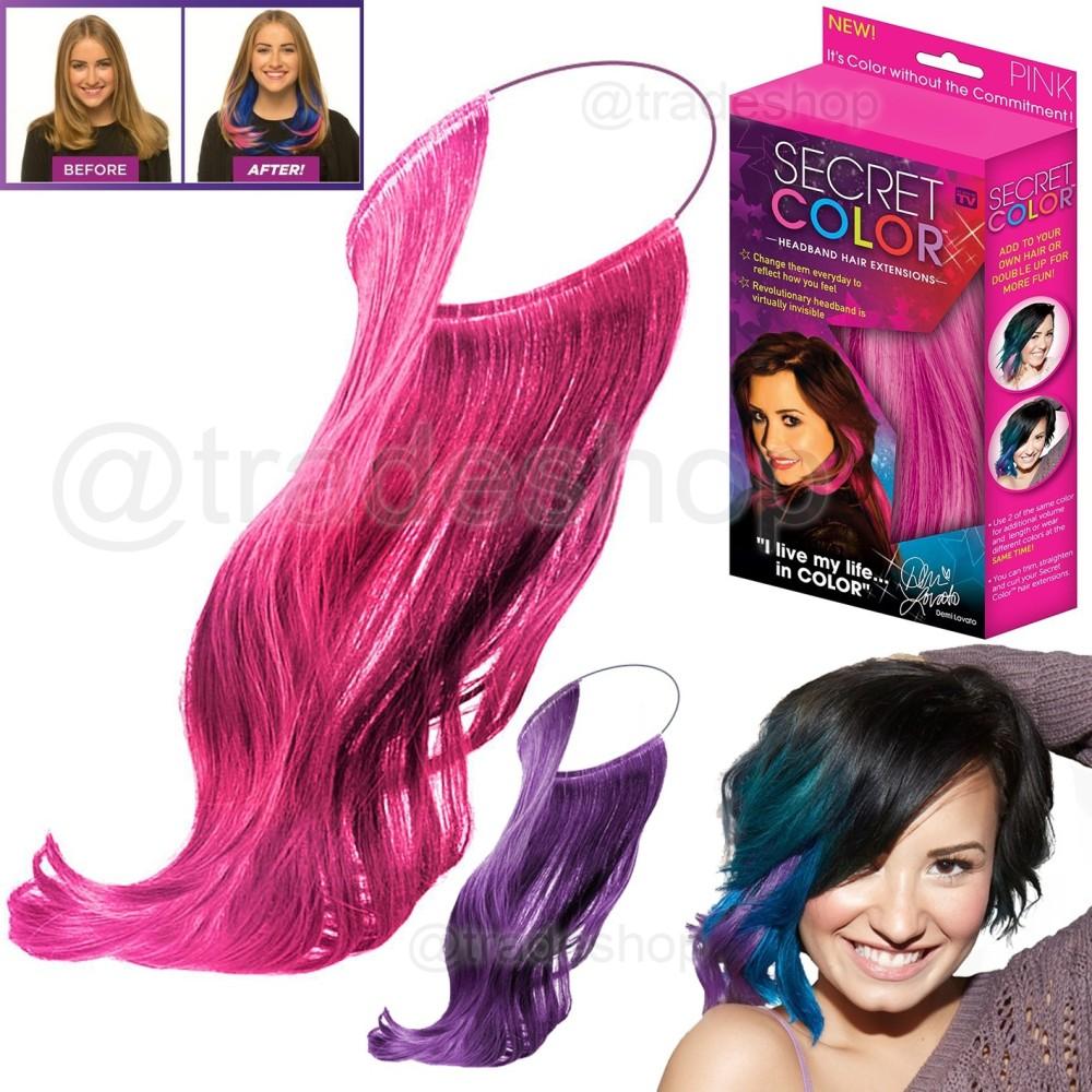 Extension Colorate Per Bambini secret color colorata extension effetto meches per capelli