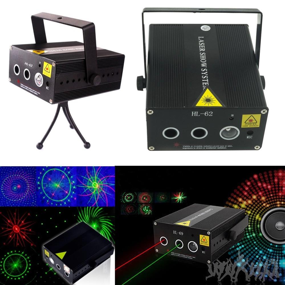 Mini Proiettore Laser Effetto Luci.Proiettore Mini Doppio Laser Effetto Luci Per Disco