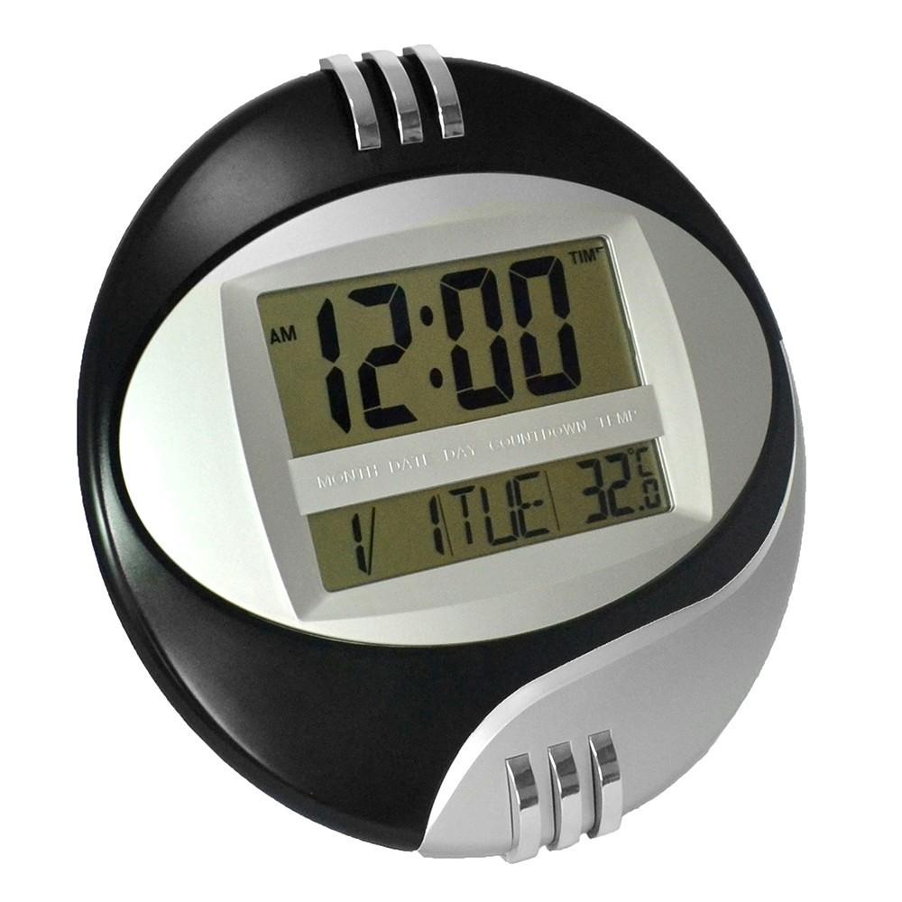 Orologio digitale da per parete muro tavolo datario for Idee per orologio da parete