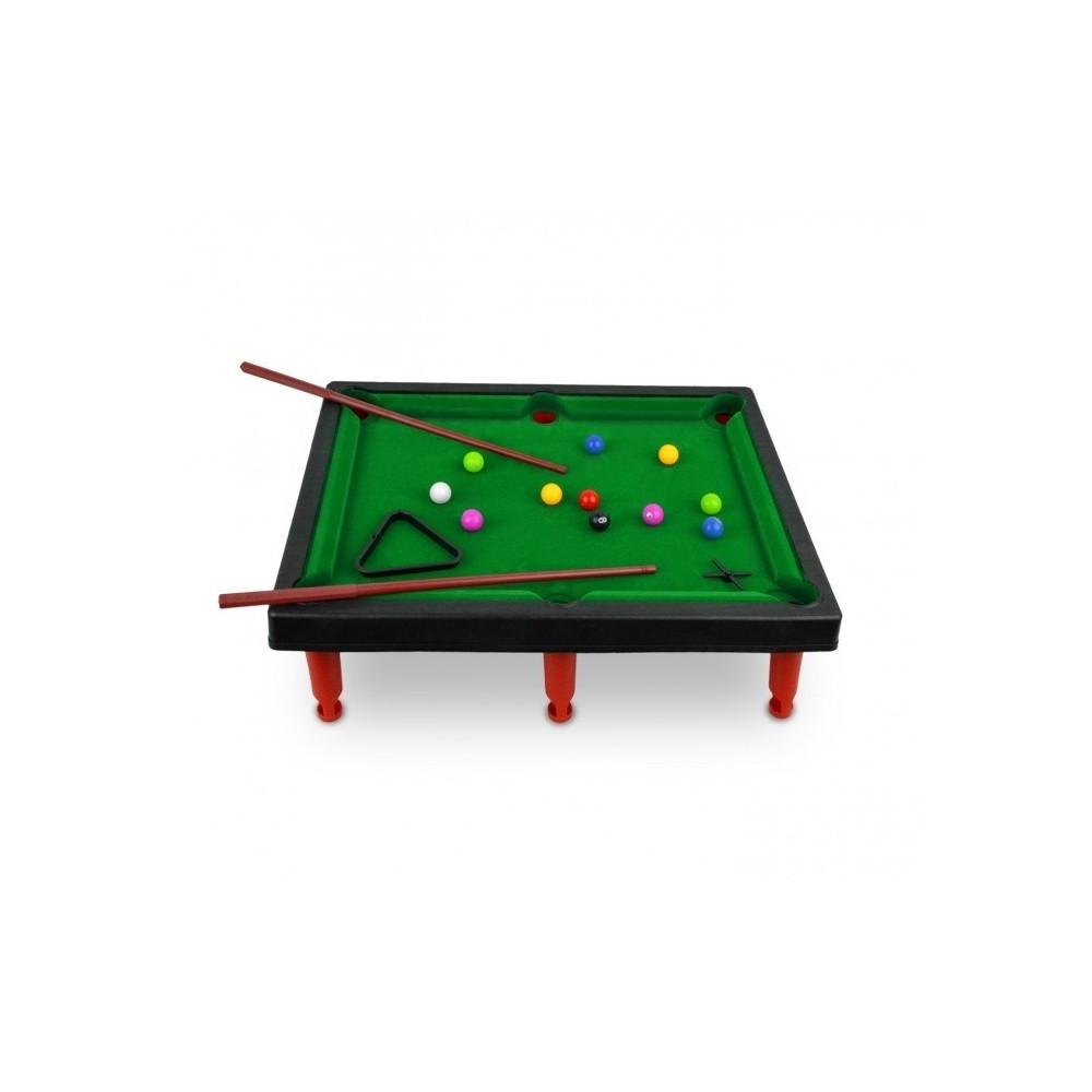 Mini biliardo giocattolo per bambini con due stecche biglie e accessori - Mini biliardo da tavolo ...