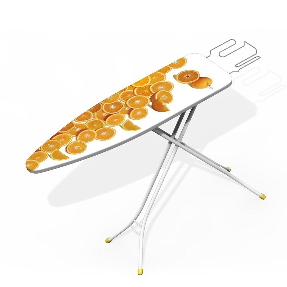 Asse da stiro in acciaio regolabile 110x33 cm tavolo compatto con piano fantasie - Asse da stiro da tavolo ...