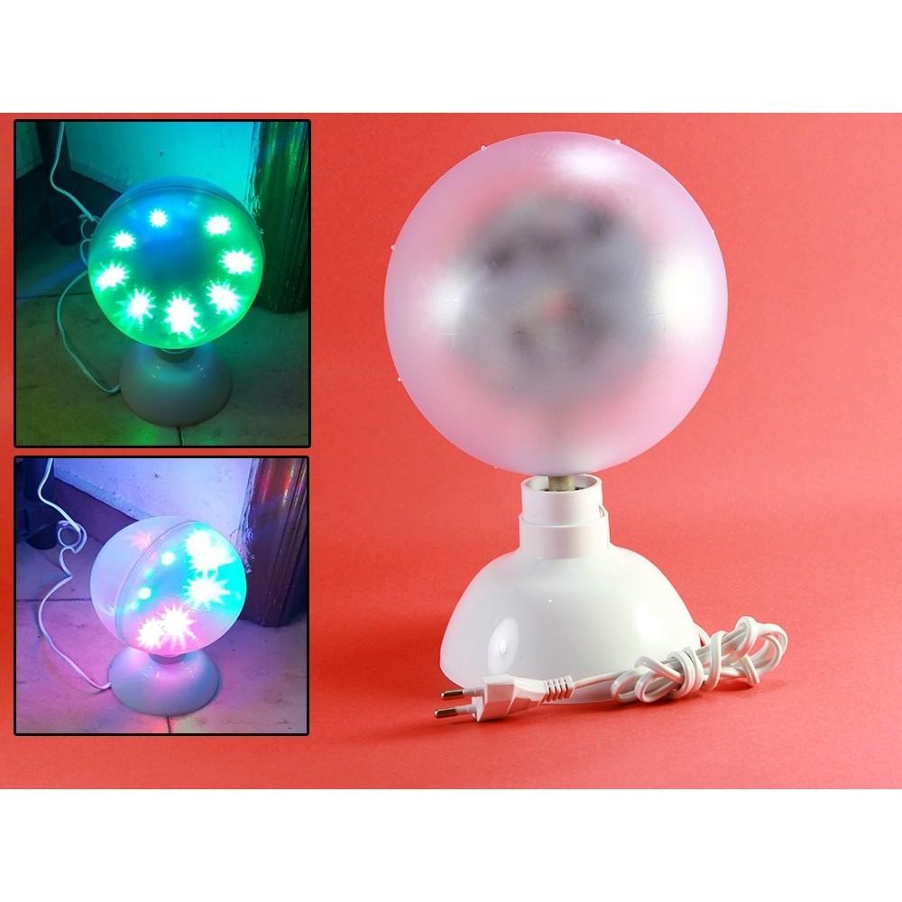 Proiettore led rgb testa rotante effetti disco discoteca - Meccanismo rotante per tavolo ...