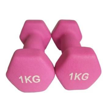 Trade Shop 00012413 Coppia MANUBRI Dumbbell COMPONIBILI 15KG Pesi Palestra Fitness Bodybuilding
