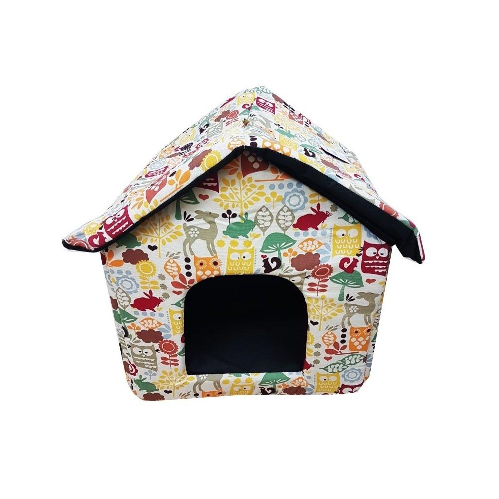 Cuccia letto pieghevole portatile casa per cane cani for Cuccia cane ikea prezzo