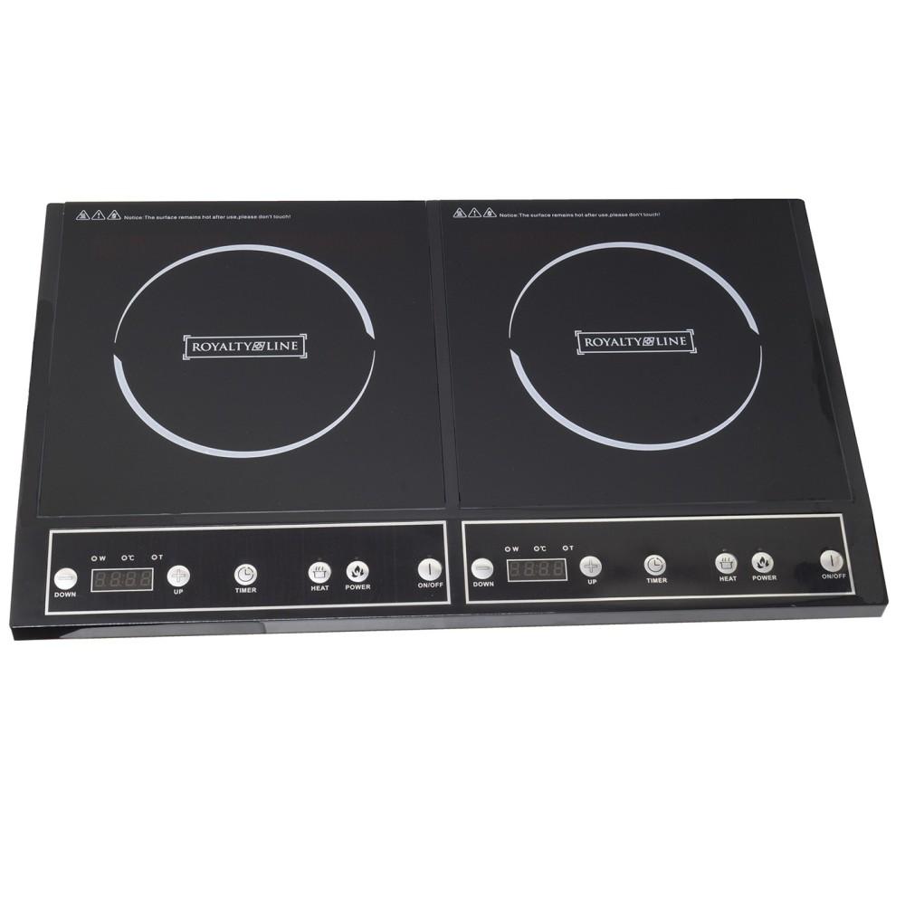 Piastra induzione 3400w doppio 2 zone piano cottura for Fornello induzione portatile