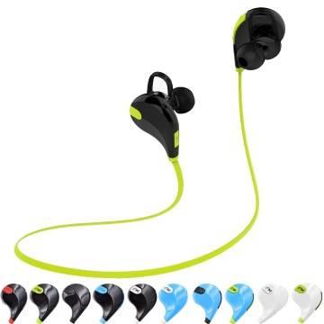 Cuffie sport stereo audio auricolari bluetooth per smartphone iphone samsung qy7 - Cuffie per sport ...