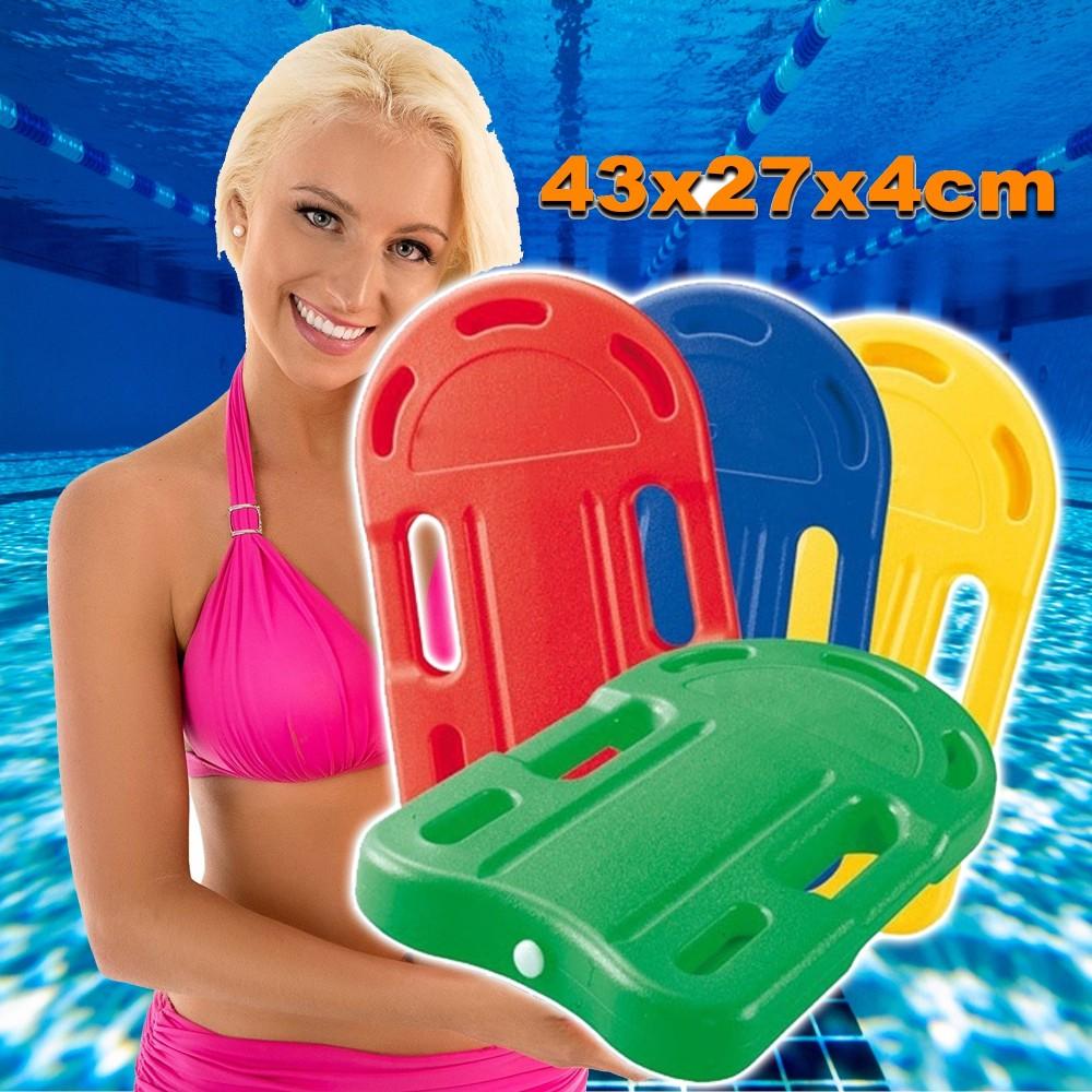 Tavoletta da nuoto in plastica 43x27x4 cm per bambini for Gioco di piscine