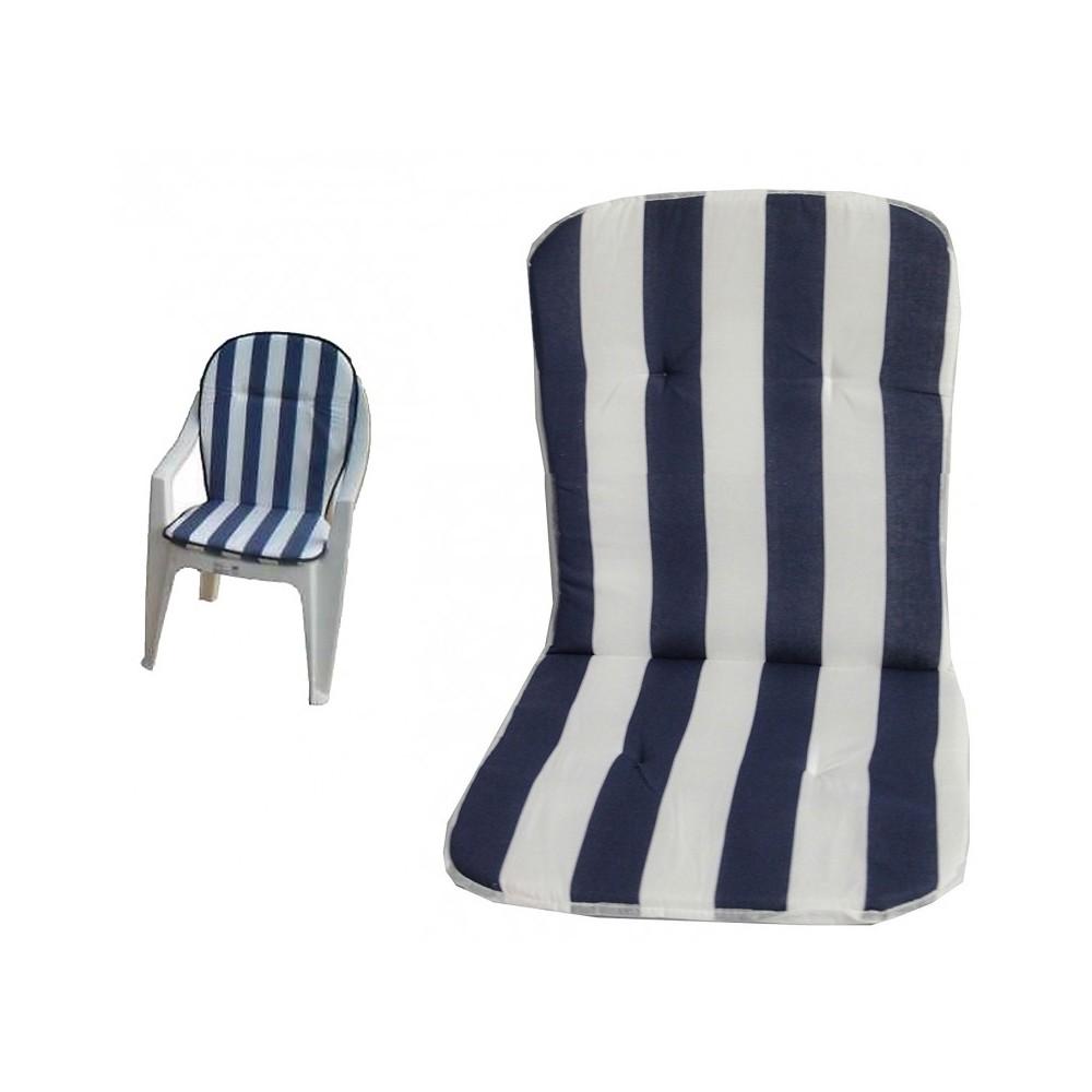 Coprisedia Per Sedie Plastica.Set 2 Cuscini Per Sedia In Plastica Con Schienale Universale Copri Sedia Seduta