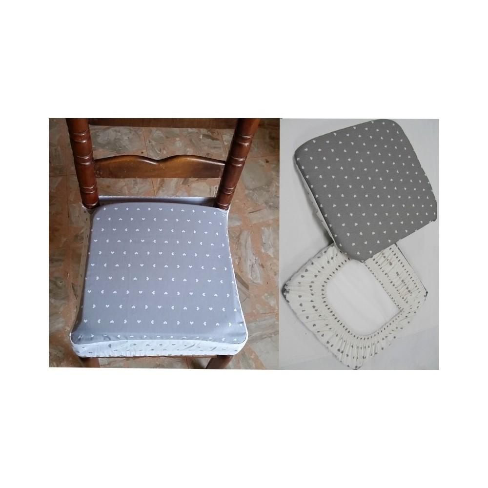 Coprisedia Per Sedie Plastica.Set 6 Coprisedia Cuscini Con Fascia Cuscino Per Sedie Imbottito Sfoderabile