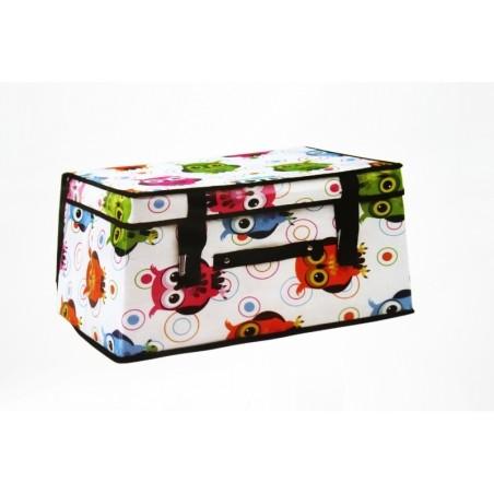 Box scatola porta biancheria abiti oggetti 50x40x30 cm - Scatole porta abiti ...