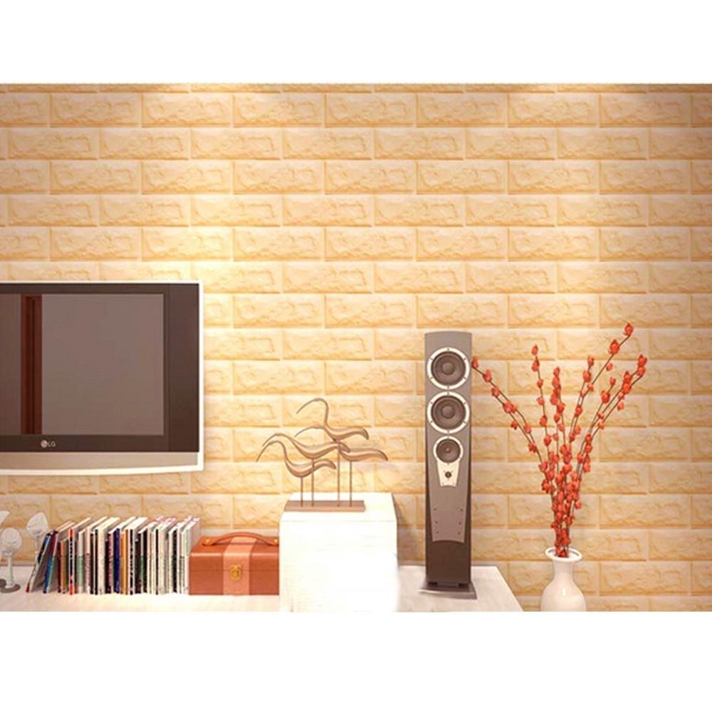 pannello adesivo per decorazione parete effetto pietra