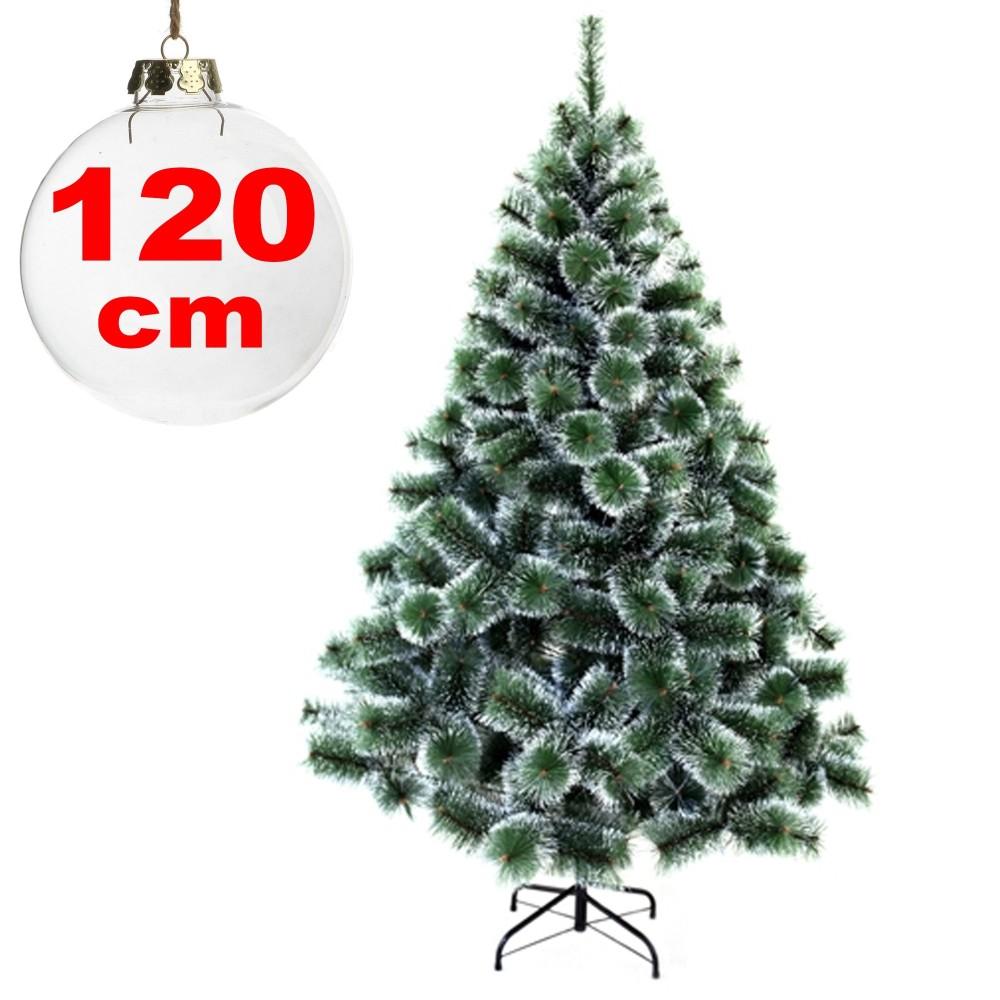 Albero Di Natale 120 Cm.Albero Di Natale Sintetico 120 Cm Innevato Decorazione Per Casa Scuola Ufficio