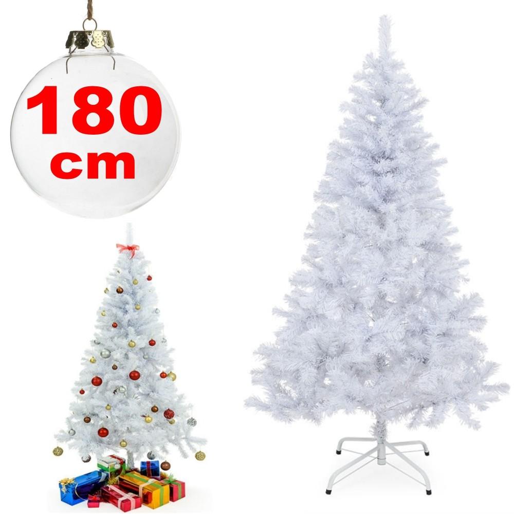 Decorare Finestre Per Natale Scuola albero di natale sintetico 180cm bianco neve decorazione per