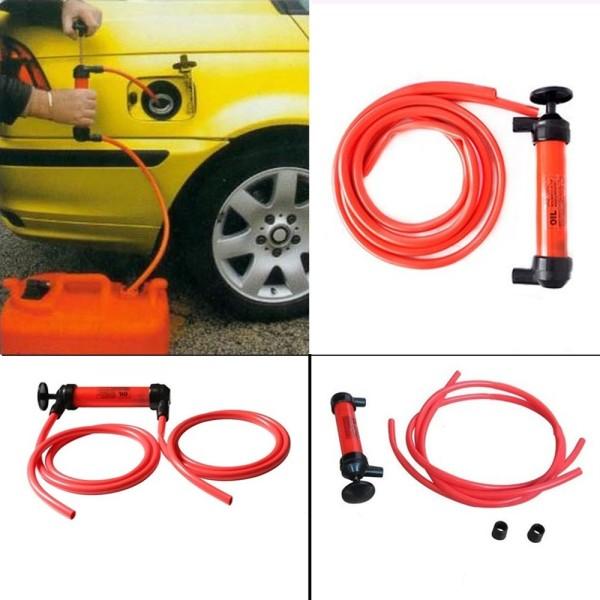 Pompa a sifone aspira liquidi con tubi flessibili travaso for Pompa sifone per acquari