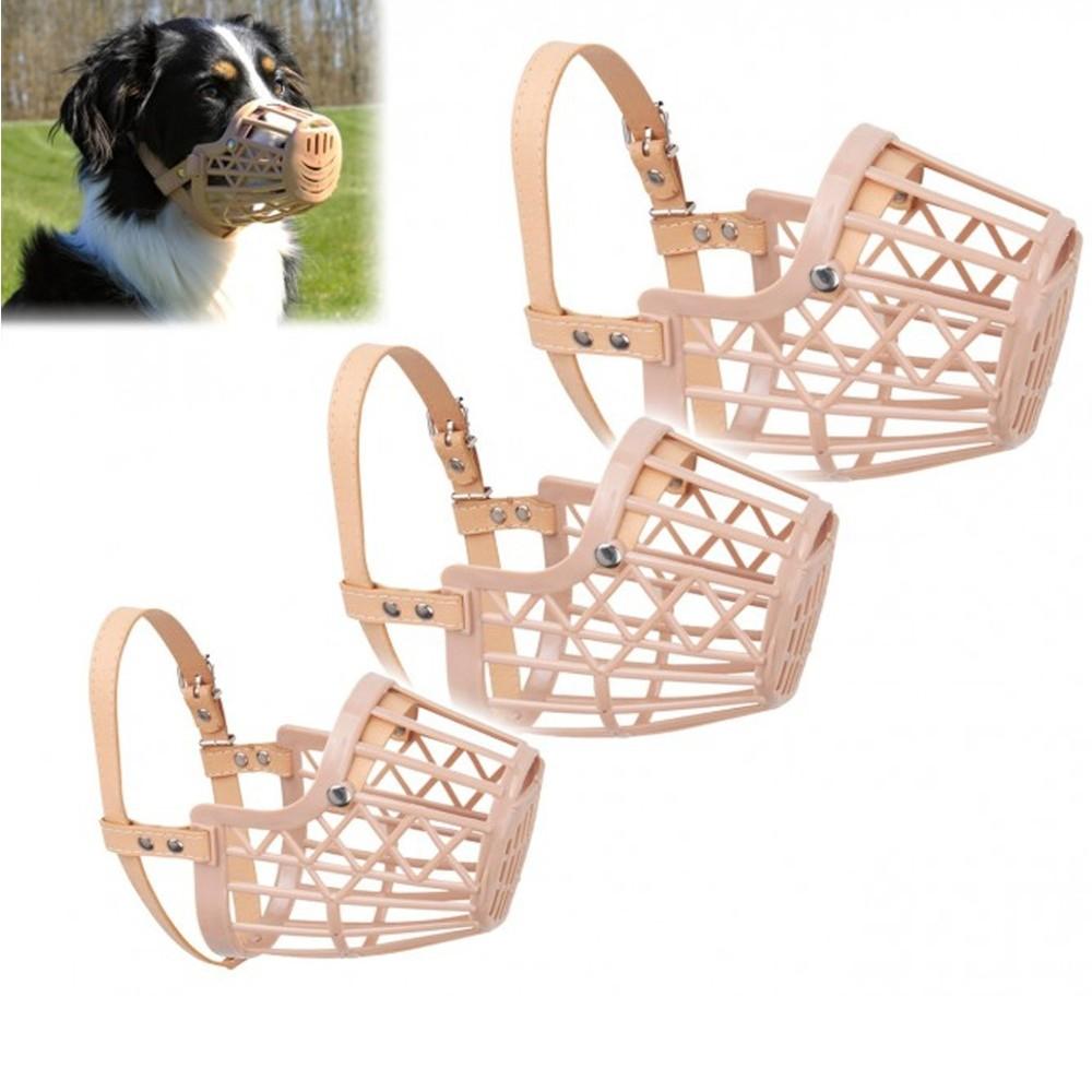 Museruola a cestello in plastica per cani di piccola media for Articoli per cani