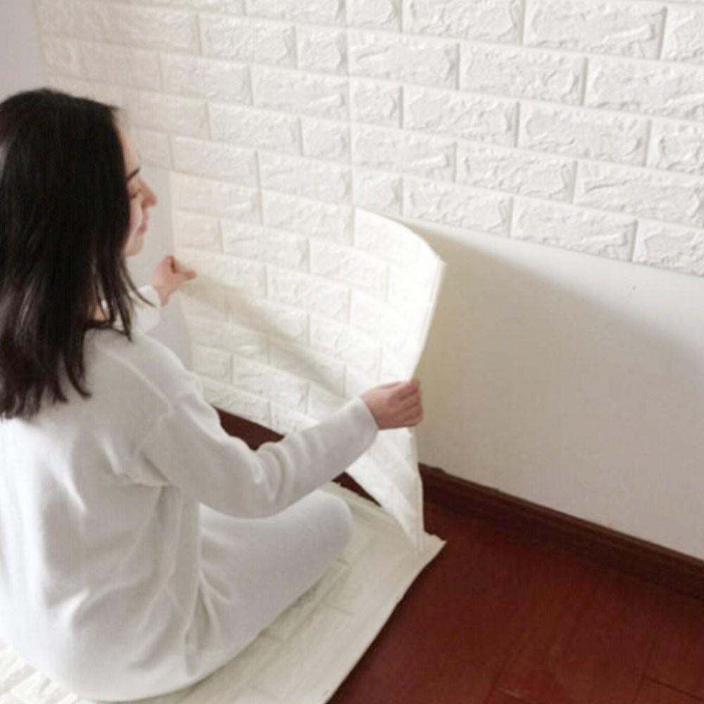 Attrezzi Per Decorare Pareti.Pannello Adesivo Per Decorazione Parete Effetto Pietra Muro 70 X