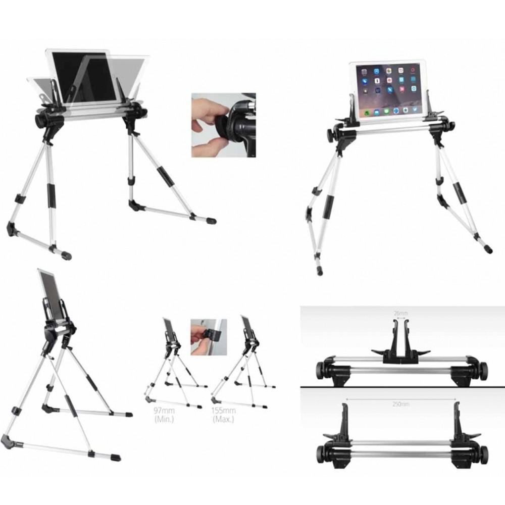 Stand supporto multiuso regolabile tavolo letto scrivania ipad tablet andorid pc - Supporto tablet letto ...