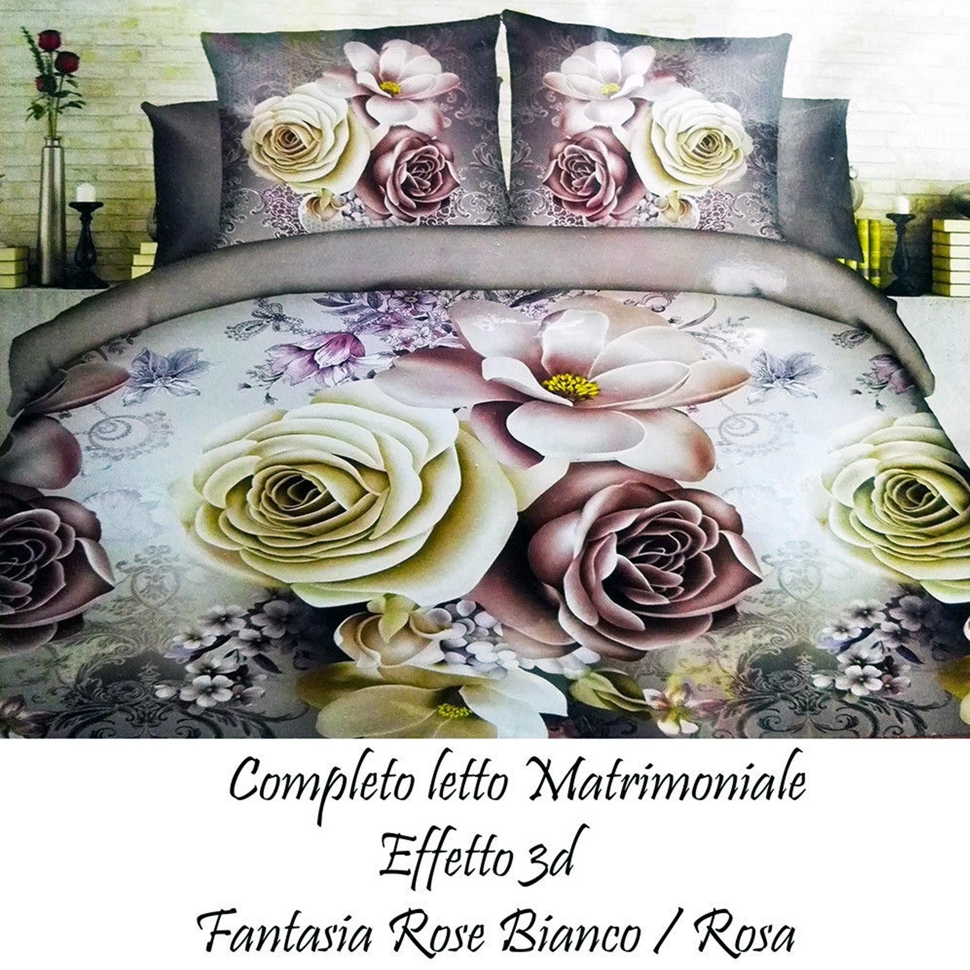 Lenzuola Matrimoniali Colorate.Completo Letto 3d Lenzuola Matrimoniale Sotto Sopra Copricuscini