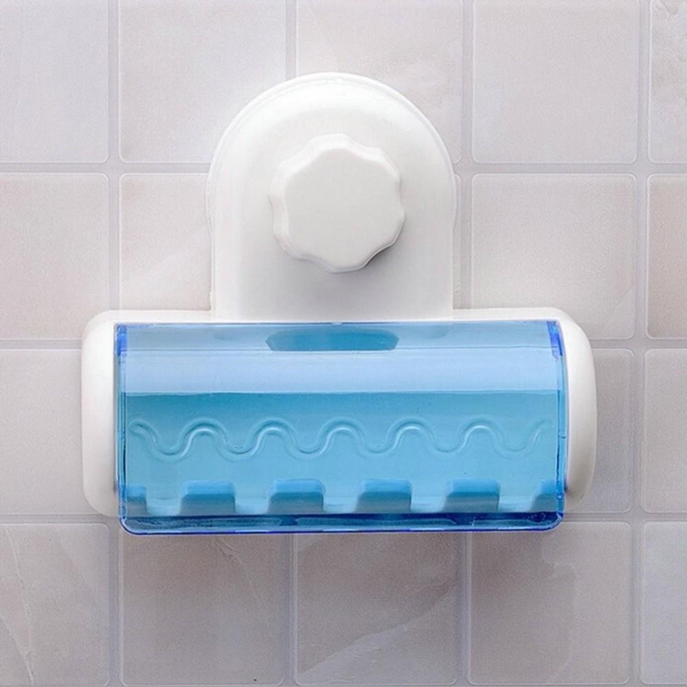 Porta spazzolini da denti a 5 posti con attacco a ventosa a parete per bagno - Termoconvettore a parete per bagno ...