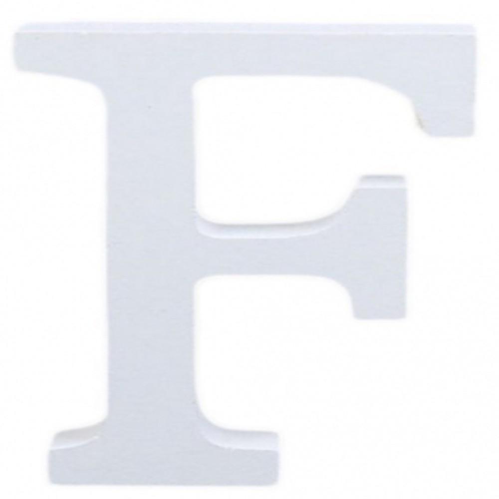 Decorazioni Lettere D Amore lettere alfabeto lettera f in legno bianco h 11 cm