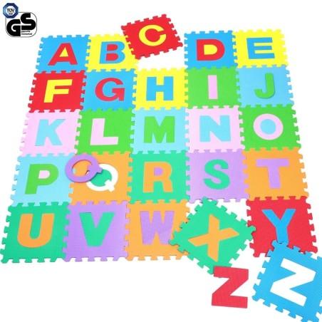 Tappeto puzzle per bambini set 36 pezzi gioco tappetino - Tappeto puzzle per bambini ikea ...