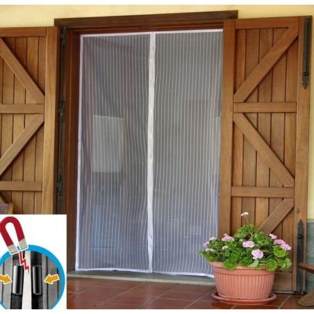 Zanzariera magnetica 140x240 cm zanzariera universale - Zanzariera porta finestra ...