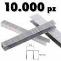 GRAFFETTE PUNTI METALLICI 10000 PZ GRAFFETTATRICI PNEUMATICHE 12.8 x 12 mm 8016