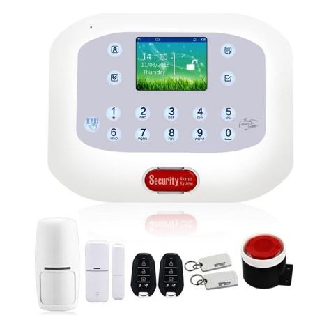Kit antifurto casa allarme touch screen combinatore gsm - App per antifurto casa ...