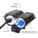 LUCE TORCIA CREE LED XM-L2 FARO FANALE BICICLETTA MTB BDC BICI SCUTER LAMPADA