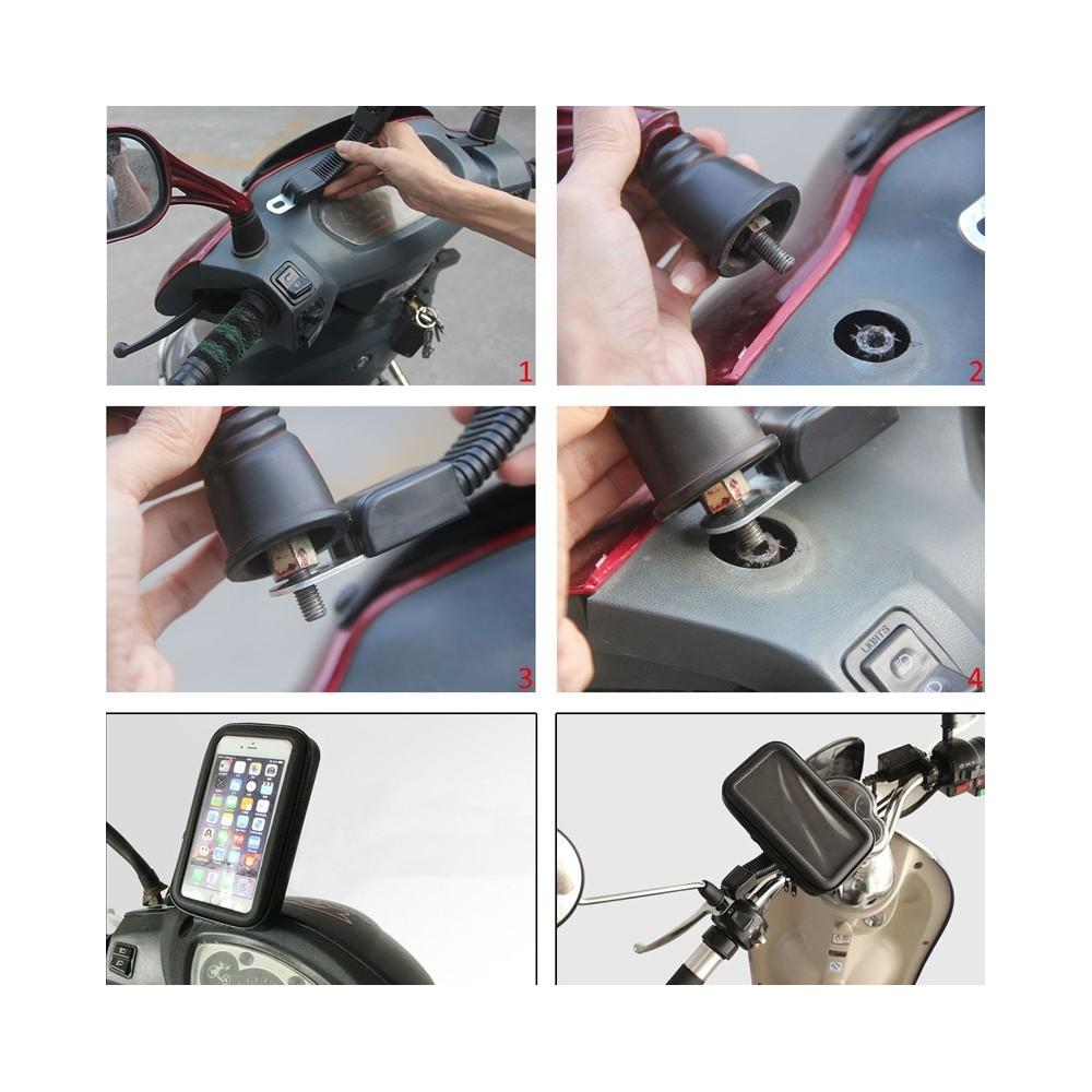 Custodia Supporto Bicicletta Moto ABS Impermeabile per iPhone 6