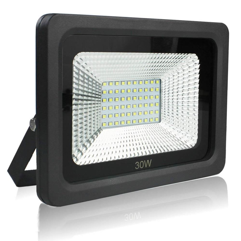 Faro faretto proiettore a led per da esterno ip65 luce for Led luce calda
