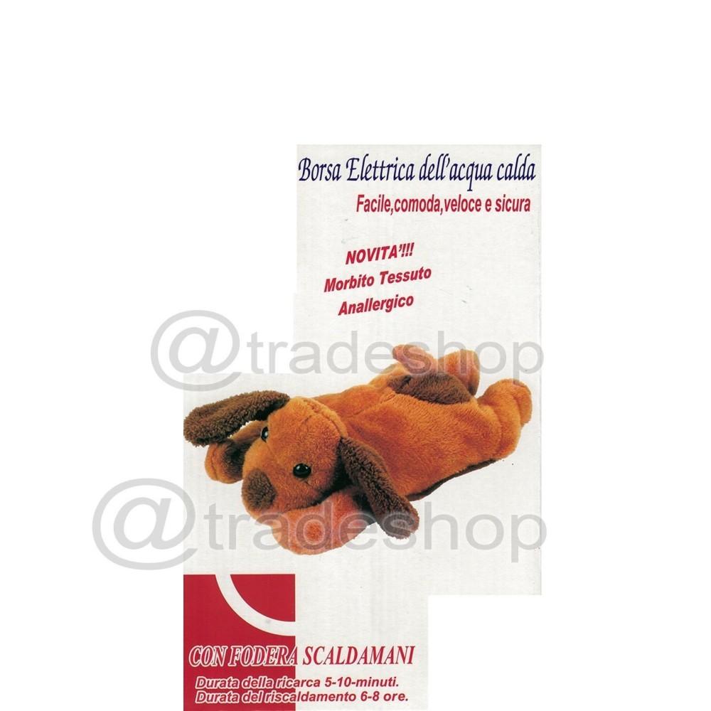 Scaldino Da Letto Elettrico.Borsa Acqua Calda Elettrica A Forma Di Peluche Cane Scaldino Scalda