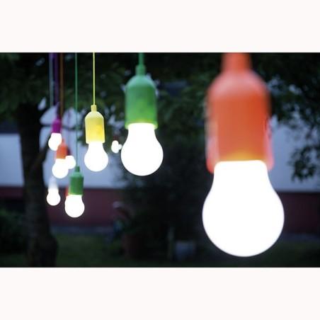Lampada lampadina a led senza fili a batteria luce handy for Lampada a lampadina