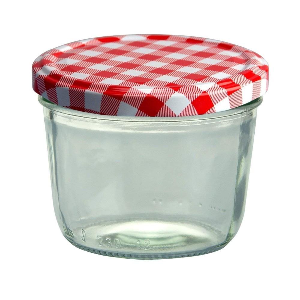 Contenitori Vetro Per Conserve set 4 vasetti vasetto barattoli vetro 140 ml conserve