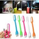 MINI LUCE LED USB FLESSIBILE LAMPADA LETTURA NOTTURNA PER NOTEBOOCK PC PORTATILE