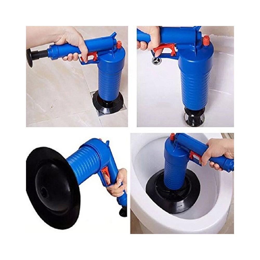 Pompa sturalavandini in acciaio e gomma bianco mDesign Sturalavandino a ventosa per il bagno Sturalavandino a pressione con apposito supporto