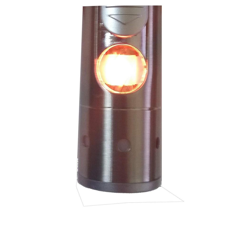 2 in 1 Supporto porta scatola sigaretta Accendino ricaricabile a gas fiamma CM