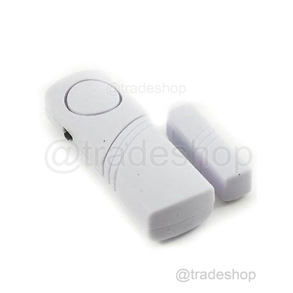 2 sensore magnetico wireless per porte e finestre allarme antifurto casa ufficio - Antifurti per casa wireless ...