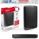 "HARD DISK TOSHIBA 2,5"" 1 TB 1000GB ESTERNO HDD AUTOALIMENTATO HARDDISK USB 3.0"