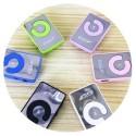 MINI LETTORE MP3 NANO STYLE CON CLIP CUFFIE MICRO SD TF USB RICARICABILE