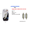 LAMPADINE DI POSIZIONE LAMPADINE ULTRA LUMINOSE MAXTECH SV8.5-5050 12V 4LED 41MM